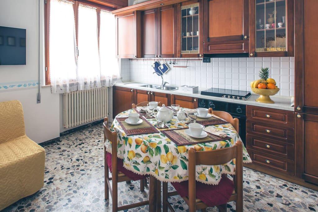 Cucina appartamento Captain