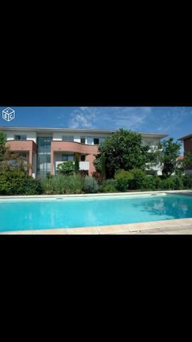 Appartement dans résidence sécurisée avec piscine