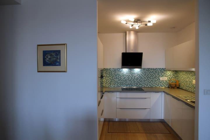 Spacious&Modern Apartment close to Centre + garage