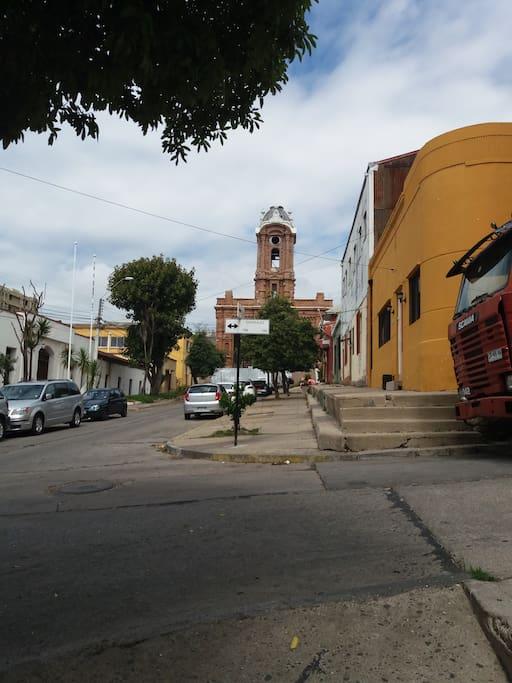 Calle Setimio, hacia el Hostal