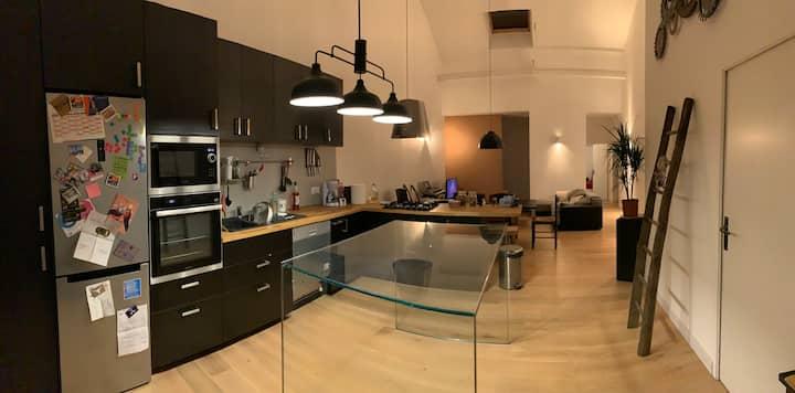 Maison adaptée aux professionnels et aux familles