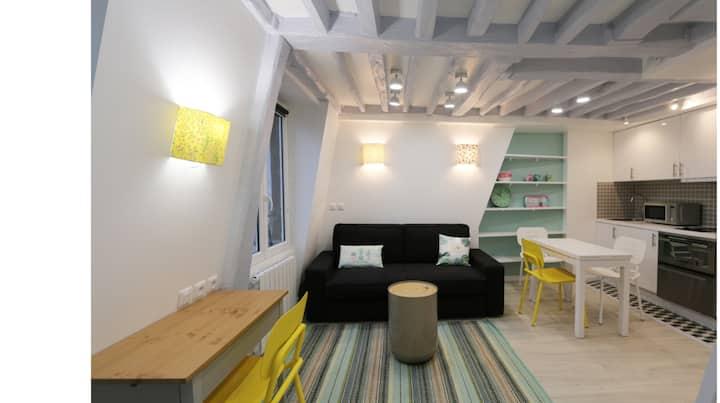 Paris Duplex Cosy and Quiet Le Marais