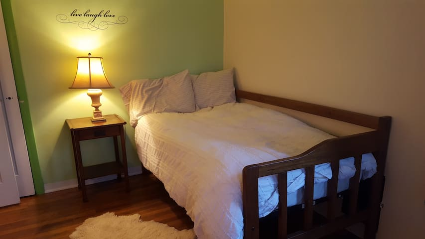 Guests often comment about how amazingly comfortable this bed is!
