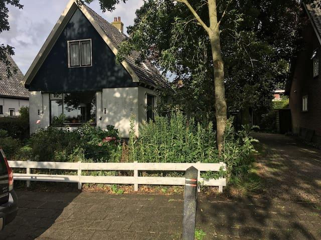 gezellig, vrijstaand huis met tuin in de natuur - Oterleek - Ev