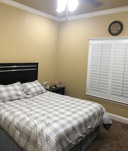 New! Private master bedroom and master bathroom
