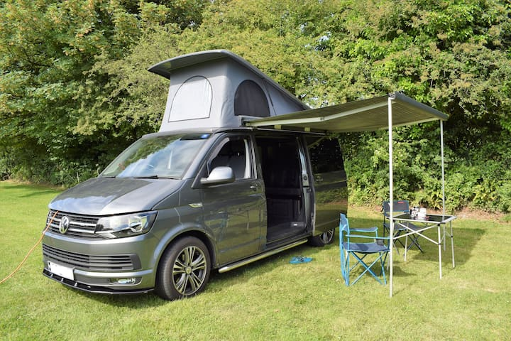 Campervan Hire Cornwall. Home is where you park it