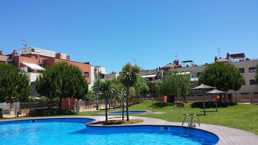 Apartment Solárium Barcelona-Cubelles HUTB-015338 - Cubelles