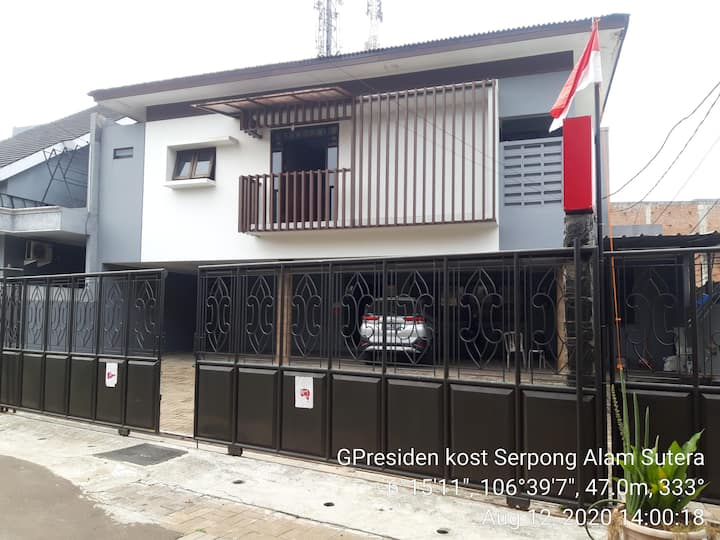 Confort Room Near Alama Sutera Gpresiden