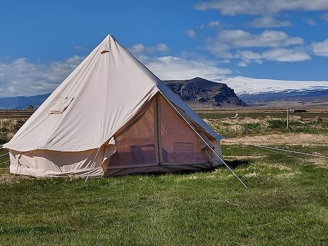 Canvas Glamping , South Iceland at Farmhouse
