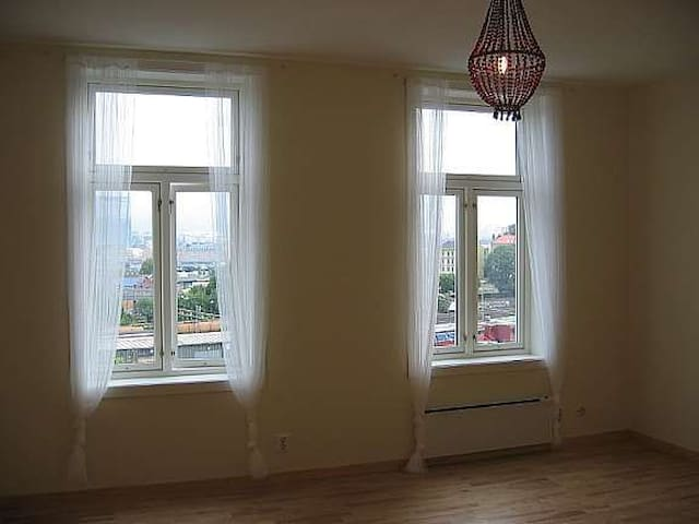 Large double room in central flat ekeberg.