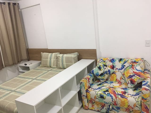 Apt tipo flat, próximo Shoping, praia e aeroporto! - Recife - Apartamento