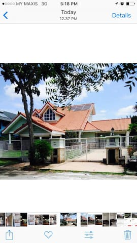 Cozy Country -like bungalow - Beranang - Domek parterowy