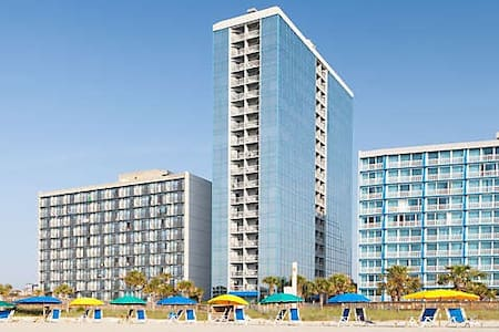 Bedroom Suite in Seaglass Tower - Myrtle Beach - Kondominium