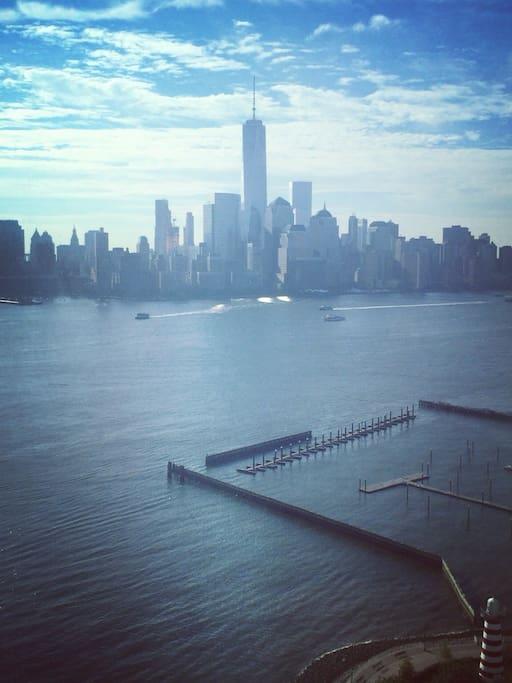 view of Manhattan s