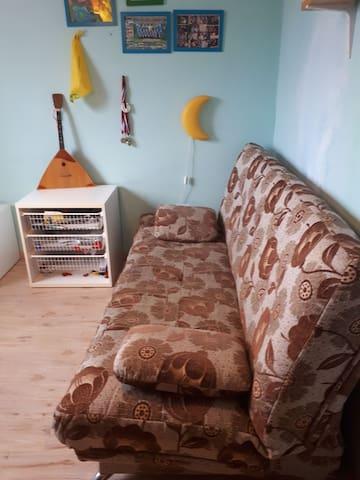 Отдельная комната  в доме для 3 гостей