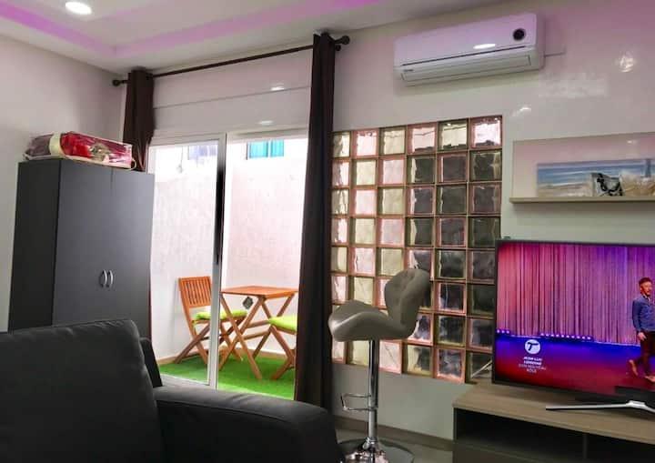 Studio de luxe au centre d'agdal (ref004)