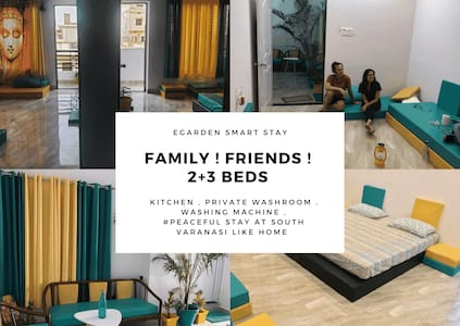Egarden Stay - Smart | Home | 2BHK Friends-Family