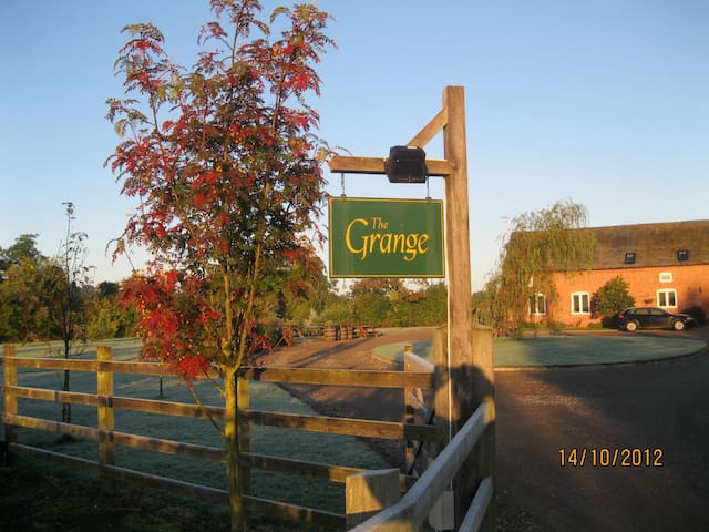The Grange BandB, Lower Loxley, Uttoxeter - Uttoxeter - 家庭式旅館
