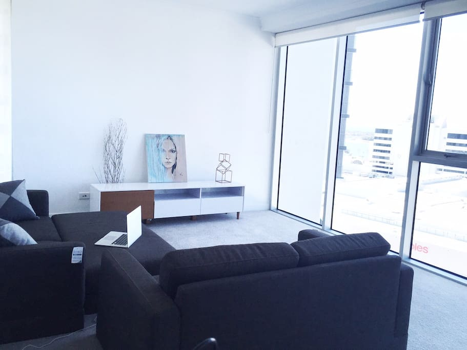 Living room (painting will be replaced with TV) Laptop not included!!