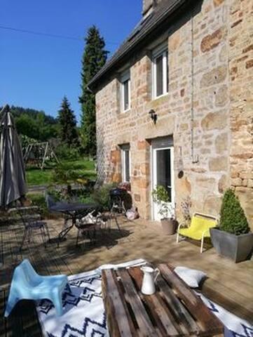 Belle maison de campagne familiale en Normandie