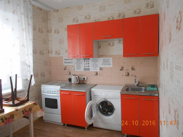 Чистая, уютная квартирка в р-не мебельной! - Gorno-Altaysk - Flat