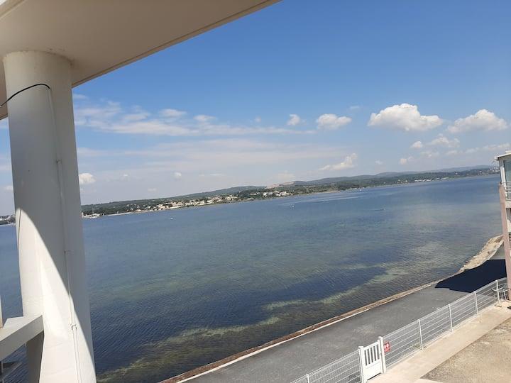 Appartement avec vue sur l'étang de Thau