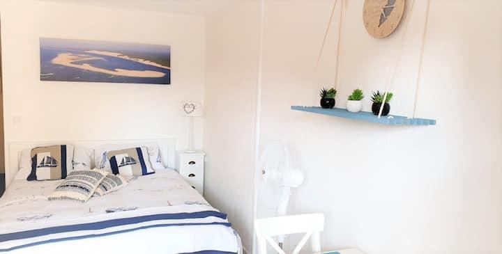 Appartement avec terrasse centre ville Biscarrosse