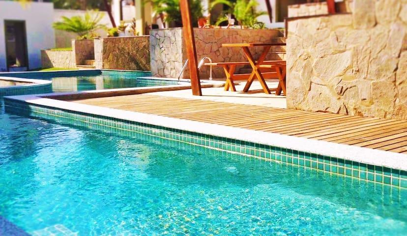 Apartamentos BILO a 250 metros das praias de Pipa. - Pipa Beach - Byt se službami (podobně jako v hotelu)