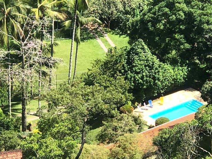 Sítio São José, local ideal para curtir e relaxar.