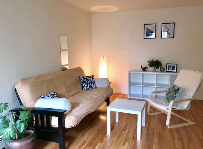 Simple, Cozy DT apartment