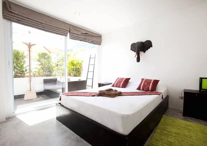2-Bedrooms ApartmentA With Kitchen & Balcony 1 fl.