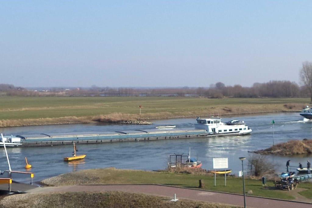 Uitzicht over de IJssel