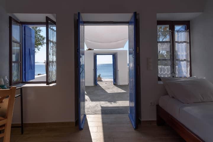 Santorini Island Kamari Beach House