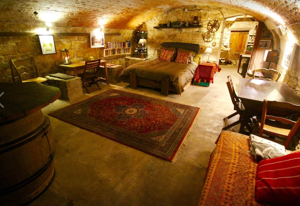 17th Century Wine cave room