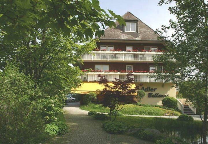 """Das 4-Sterne-Ferienhaus """"Adler Bellevue"""""""