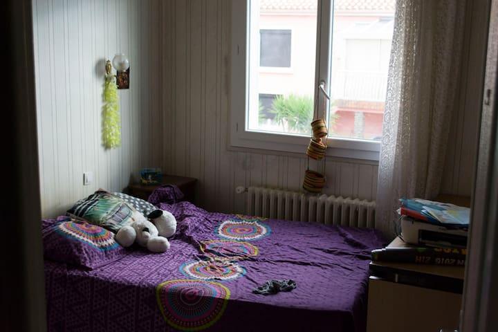 1 Chambre calme dans une maison avec jardin - Perpignan - Haus
