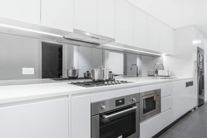 Sydney Olympic Park 1 bedroom apartment with WIFI