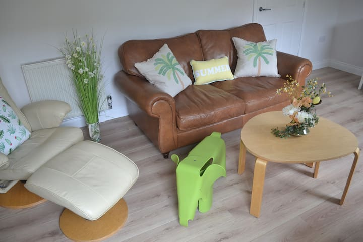 Living room seating with sofa bed