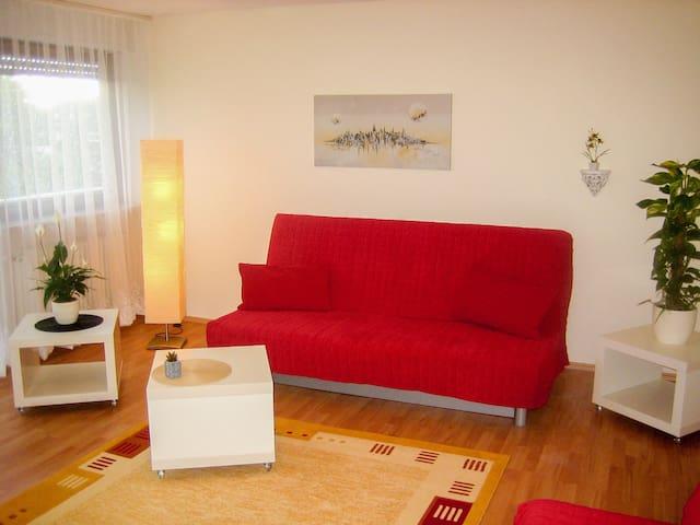 Apartmenthaus-Abendsonne ( gr. DG )