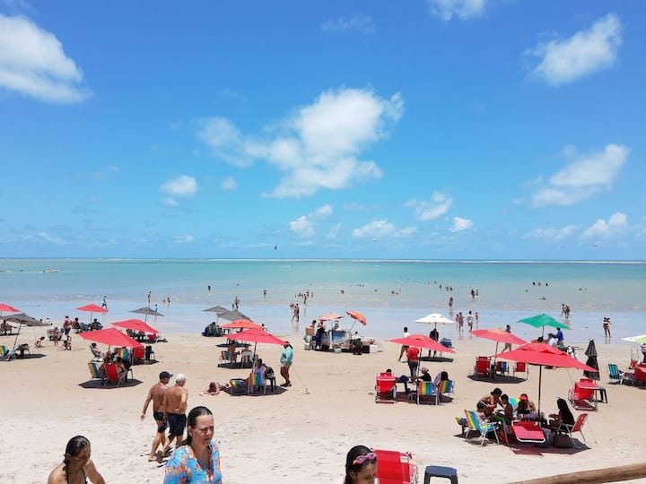 Carnaval, praia tranquila e pertinho de tudo!