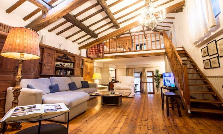 Wooden Villa in Trastevere (Center Rome)