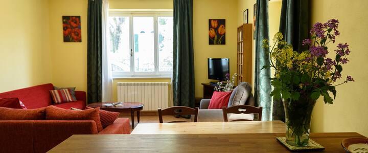 Casa Lilla holiday apartment in Acquasparta Umbria