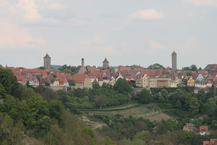 Ferienwohnung in Rothenburg o.d.T. - Rothenburg ob der Tauber - Appartement