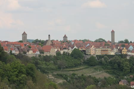 Ferienwohnung in Rothenburg o.d.T. - Rothenburg ob der Tauber - 公寓