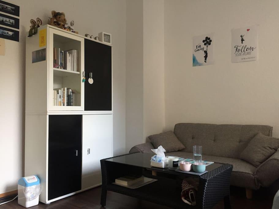 Bedroom&Living room_Sofa and capboard