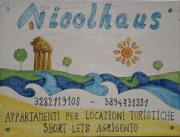 Nicolhaus apprtamento per le vacanze - short lets - Villaggio Mosè - Daire