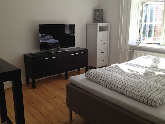 Comfy bed, big bright room, super wi-fi - Copenhaguen - Pis