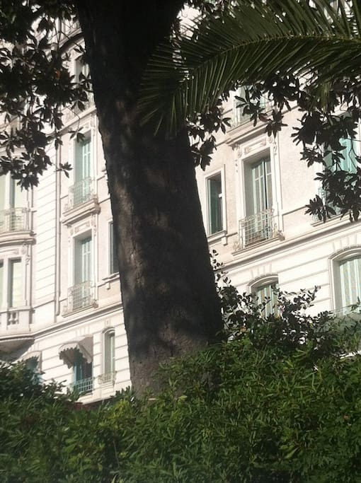 la façade de la résidence Alexandra