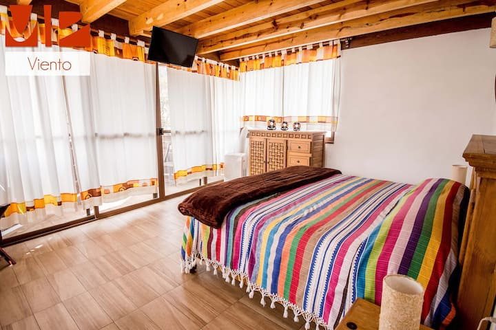 Acogedora habitación B&B en el centro de Tepoztlán