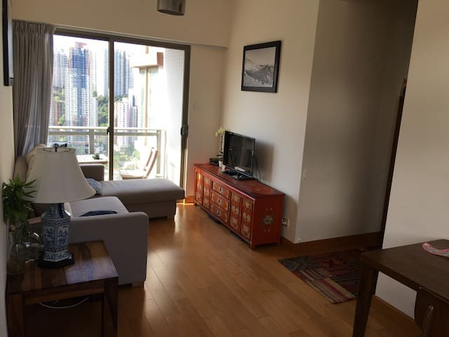 1 bed apartment with pool